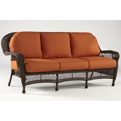 Montego Bay Sofa with Cushions Fabric: Cornsilk