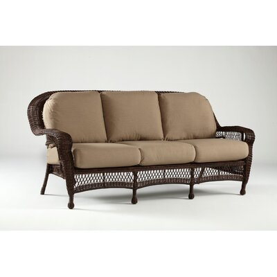 Montego Bay Sofa with Cushions Fabric: Sesame