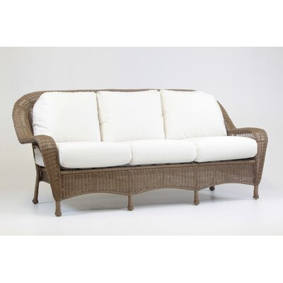 Savannah Sofa with Cushion Fabric: Cayenne