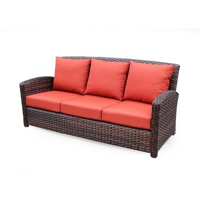 Huntington Sofa with Cushion Fabric: Cayenne