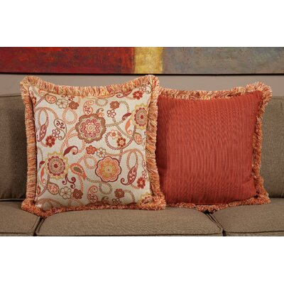 Fiesta Large Indoor/Outdoor Sunbrella Throw Pillow