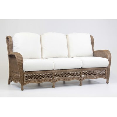 Riviera Sofa with Cushion Fabric: Dove