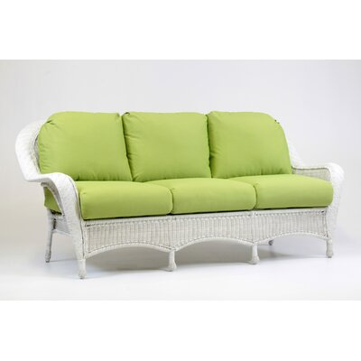 Key West Sofa with Cushion Fabric: Cornsilk