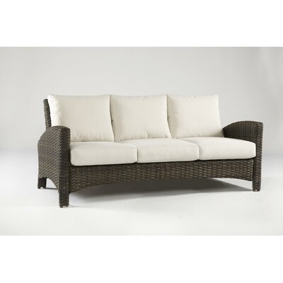 Panama Sofa with Cushions Fabric: Sand