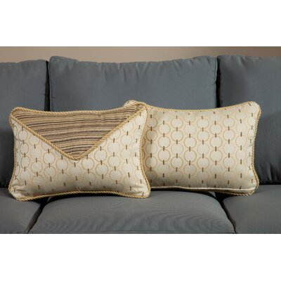 Aura Small Indoor/Outdoor Sunbrella Throw Pillow