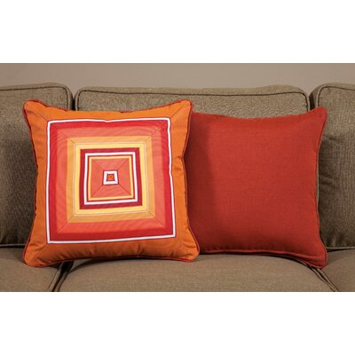 Fiesta Medium Indoor/Outdoor Sunbrella Throw Pillow