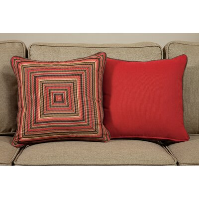Dorsett Medium Indoor/Outdoor Sunbrella Throw Pillow