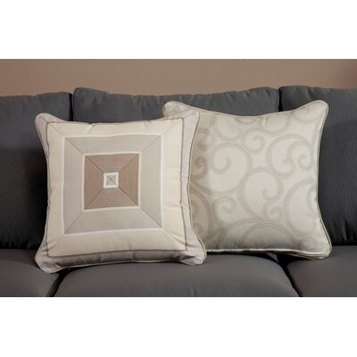 Milano Medium Indoor/Outdoor Sunbrella Throw Pillow