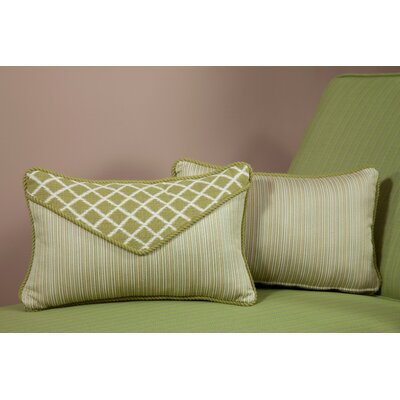 Palm Small Indoor/Outdoor Sunbrella Throw Pillow