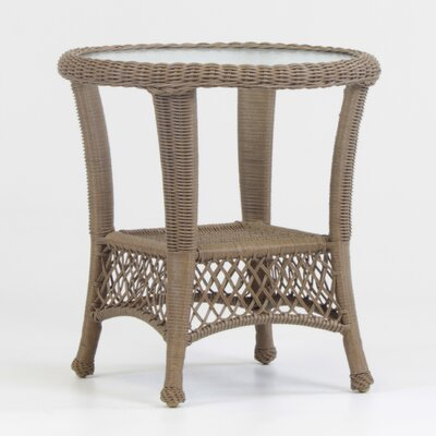 Savannah Wicker End Table