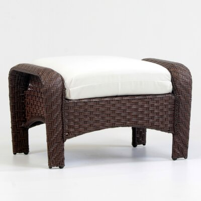 Martinique Ottoman with Cushion Fabric: Canvas