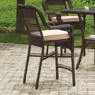 Montego Bay Counter Height Dining Set Cushion Fabric Sesame - Product photo