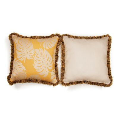 Sunshine Large Indoor/Outdoor Sunbrella Throw Pillow