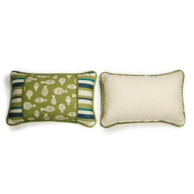 Aegean Small Indoor/Outdoor Sunbrella Throw Pillow