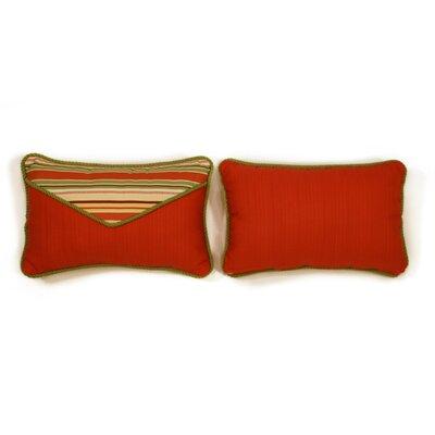 Geranium Small Indoor/Outdoor Sunbrella Throw Pillow