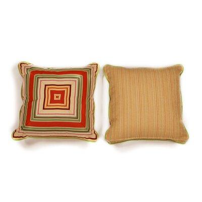 Geranium Medium Indoor/Outdoor Sunbrella Throw Pillow