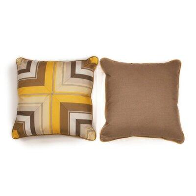 Sunshine Medium Indoor/Outdoor Sunbrella Throw Pillow