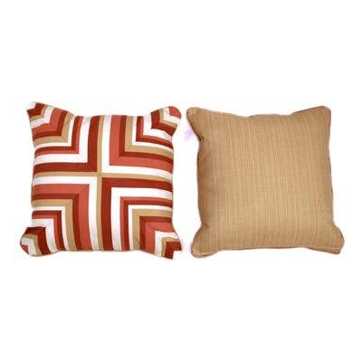 Mandarin Medium Indoor/Outdoor Sunbrella Throw Pillow