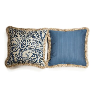 Neptune Large Indoor/Outdoor Sunbrella Throw Pillow