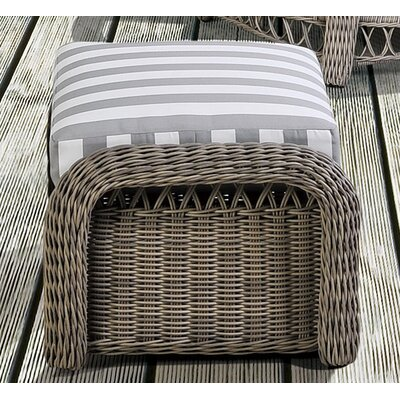 Arcadia Ottoman with Cushion Fabric: Pool