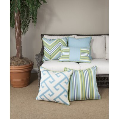 Cabana Life Luxe Greco Throw Pillow