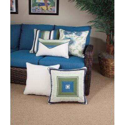 Cabana Life Luxe Violetta Lumbar Pillow