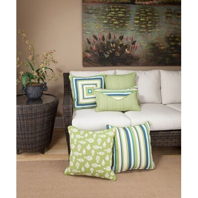 Cabana Life Luxe Aloha Throw Pillow
