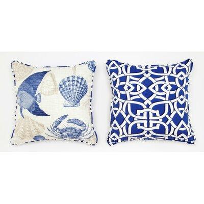 Cabana Life Marina Throw Pillow