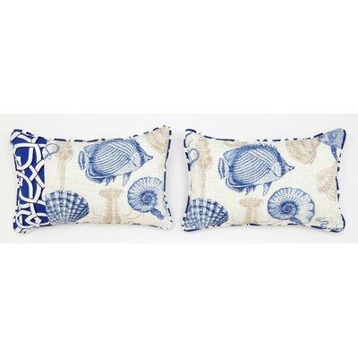 Cabana Life Marina Lumbar Pillow
