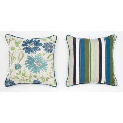 Cabana Life Luxe Violetta Throw Pillow