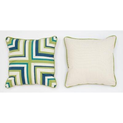 Cabana Life Luxe Pesto Throw Pillow