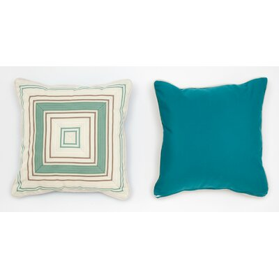 Cabana Life Luxe Seamist Throw Pillow