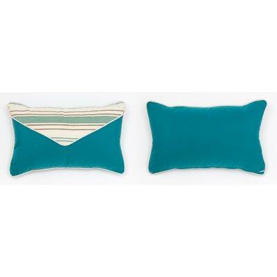 Cabana Life Luxe Seamist Lumbar Pillow