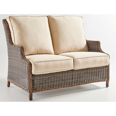 Barrington Loveseat with Cushion Fabric: Canvas