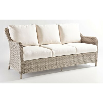 Mayfair Sofa with Cushion Fabric: Aquamarine
