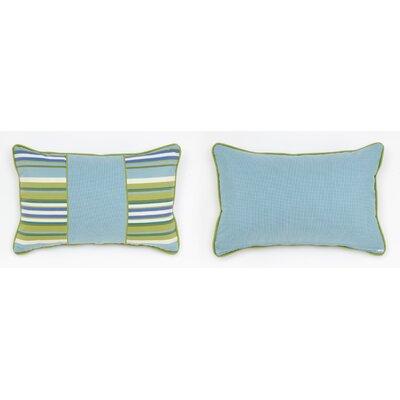 Cabana Life Luxe Greco Lumbar Pillow