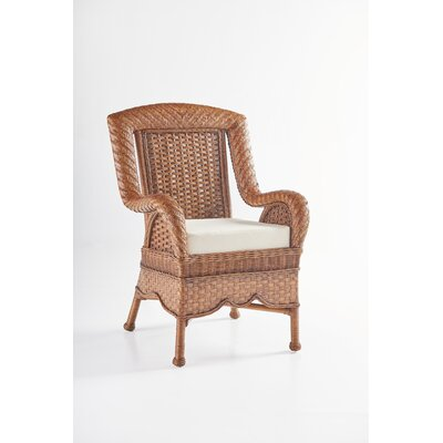 Autumn Morning Arm Chair Upholstery: Jasmine Antique Stripe