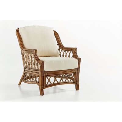 Nadine Ariel Sunset Armchair Finish: Cinnamon