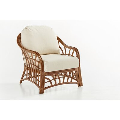 New Kauai Armchair Color: Dening Greige Natural