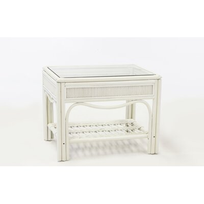 Bermuda End Table Finish: Whitewash