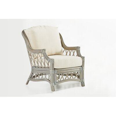 Nadine Grasmere Cocoa Armchair Finish: Willow