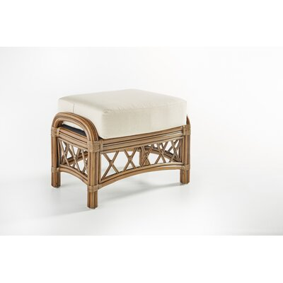Nadine Ottoman Color: Success Fennel, Finish: Cinnamon