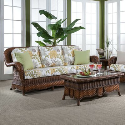 Autumn Morning Jasmine Antique Stripe Sofa