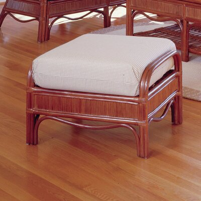 Bermuda Ottoman Finish: Pecan, Color: Dening Greige Natural