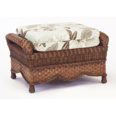 Autumn Morning Bamboozle Plantain Ottoman