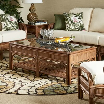 Bermuda Coffee Table Color: Pecan
