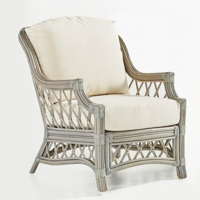 Nadine Armchair Color: Sachi Camo, Finish: Willow