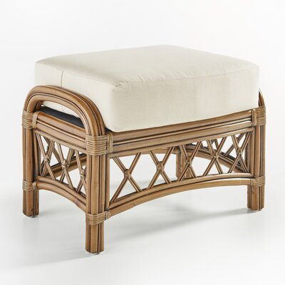 Nadine Ottoman Color: Sachi Camo, Finish: Cinnamon