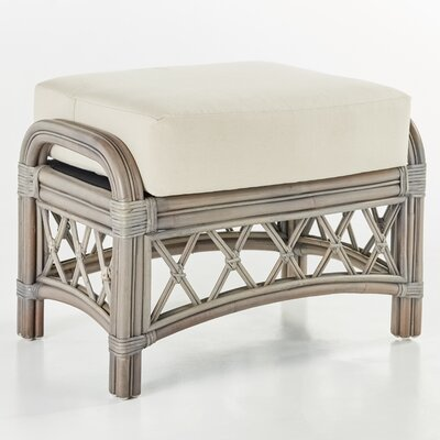 Nadine Ariel Sunset Ottoman Finish: Willow