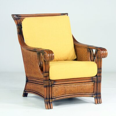 Pacifica Armchair Color: Dening Greige Natural